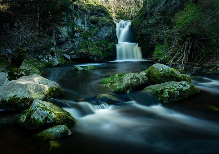 Waterfall landscape photography