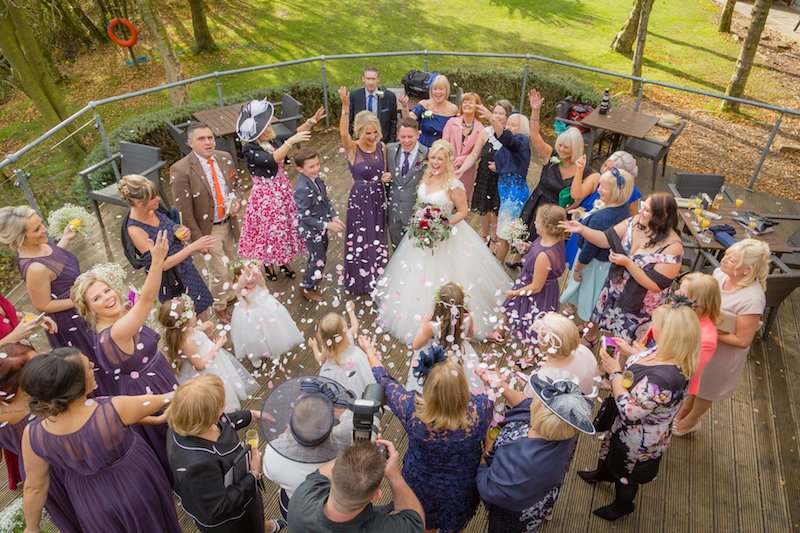 Wedding Photography Tips Confetti