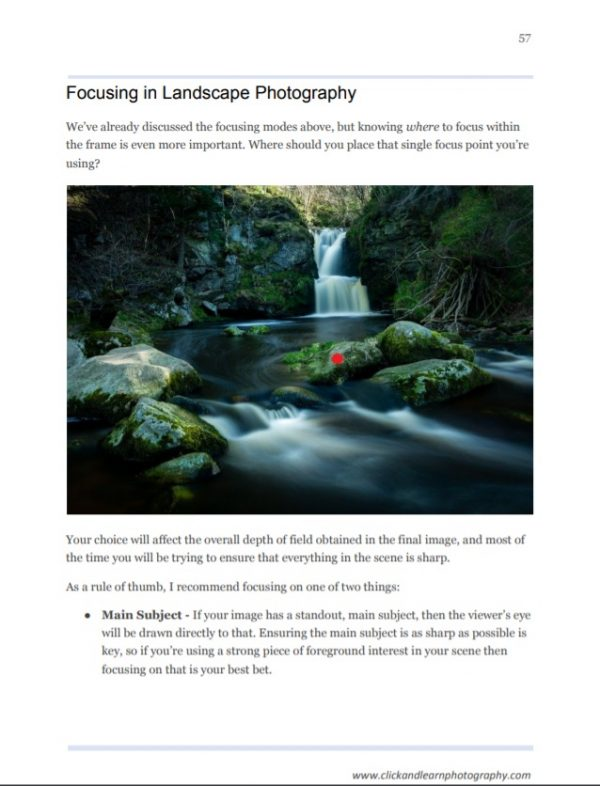 Ultimate Guide to Landscape Photography sample